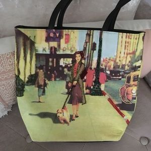 NWOT Wilson's Leather Dog Lover Tote